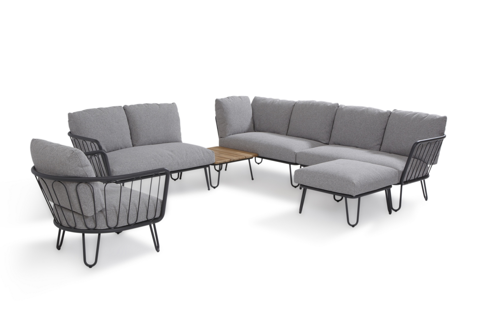 4 Seasons Outdoor Premium Loungeset